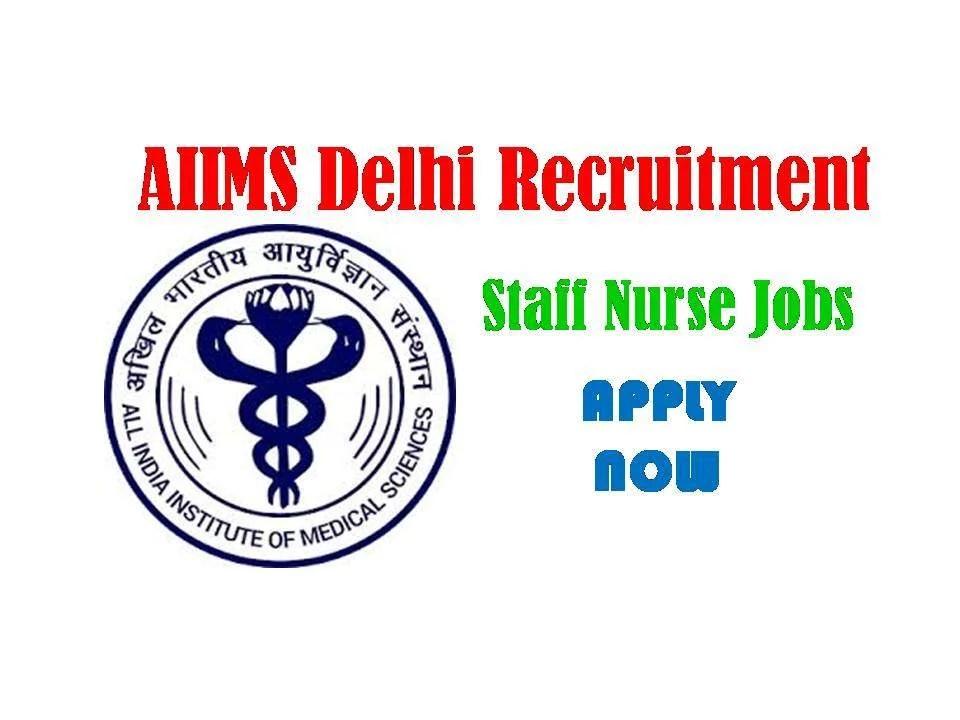 AIIMs Delhi Recruitment 2019