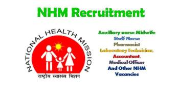 NHM UP 2020 Recruitment