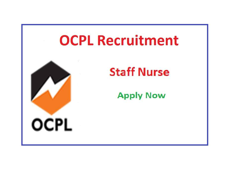 OCPL Staff Nurse Recruitment