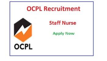 OCPL Staff Nurse Recruitment