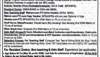 Army Public school Beas Recruitment