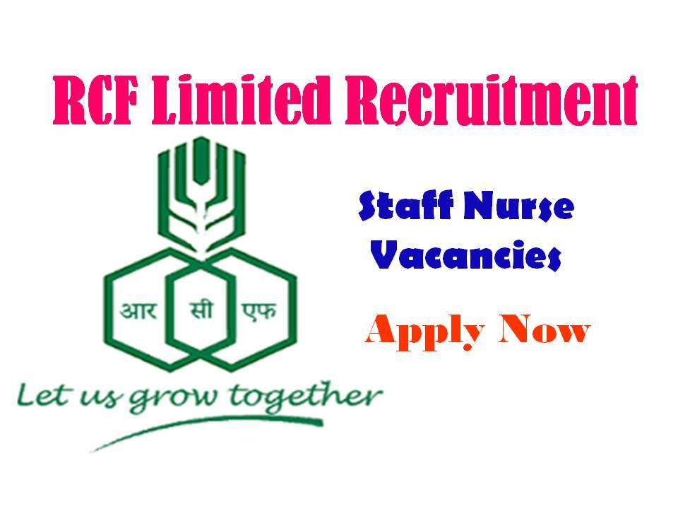 RCF Limited Recruitment 2019
