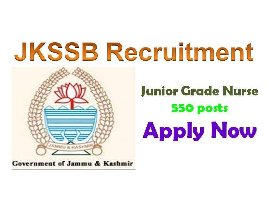 jkssb recruitment 2019