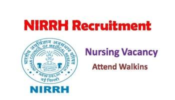 NIRRH Recruitment 2019