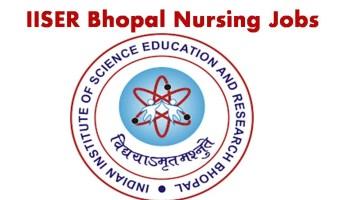 ISER Bhopal Staff Nurse