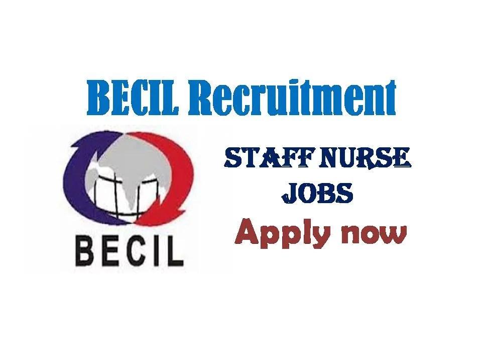 Latest BECIL Recruitment 2019