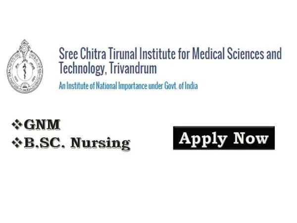 SCTIMST Staff Nurse Recruitment 2019