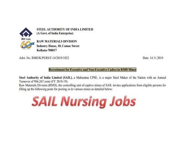 SAIL RMD Staff Nurse