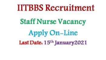 IIT Bhubaneswar Recruitment