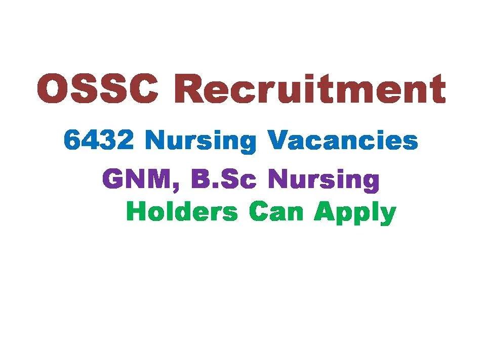 OSSC Staff Nurse Jobs