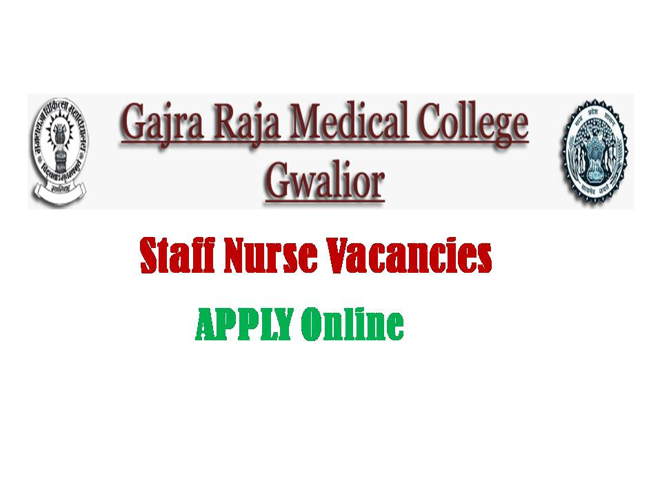 GRMC Gwalior Recruitment