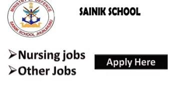 Sainik School Recruitment 202