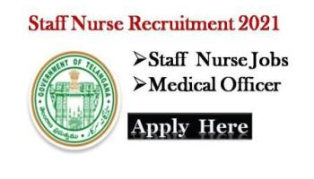 Telangana Staff Nurse Govt