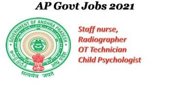AP Govt Staff Nurse