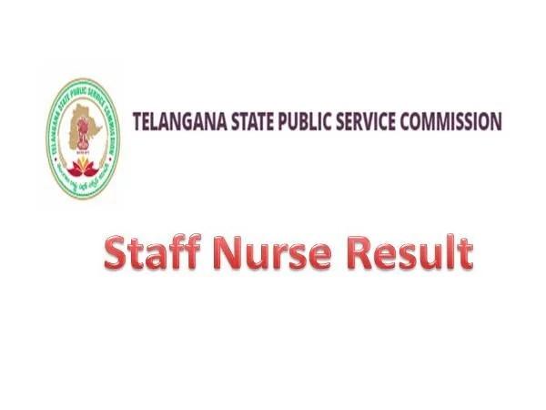 TSPSC Staff Nurse Result April 2021 , TSPSC, Telangana Public Service Selections, Staff Nurse Job Result