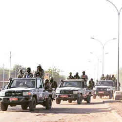 Répression des manifestants  à N'Djamena