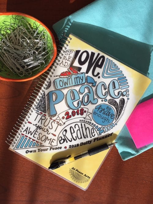 2018 Own Your Peace Daily Planner