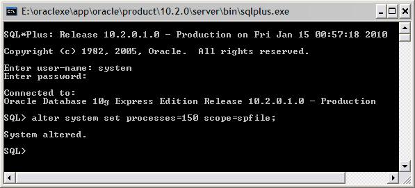 ORA-12519: TNS