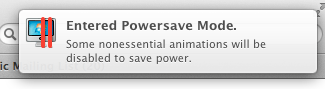 Parallels Desktop 8: Powersave Mode