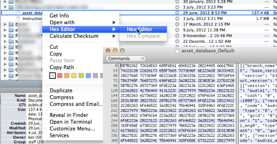 Path Finder: Built-in Hex Editor