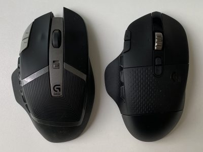 Logitech G602 and G604 compared