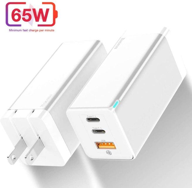 Baseus 65W GaN USB-C Charger