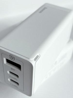 Baseus GaN 65W USB-C Charger LED light