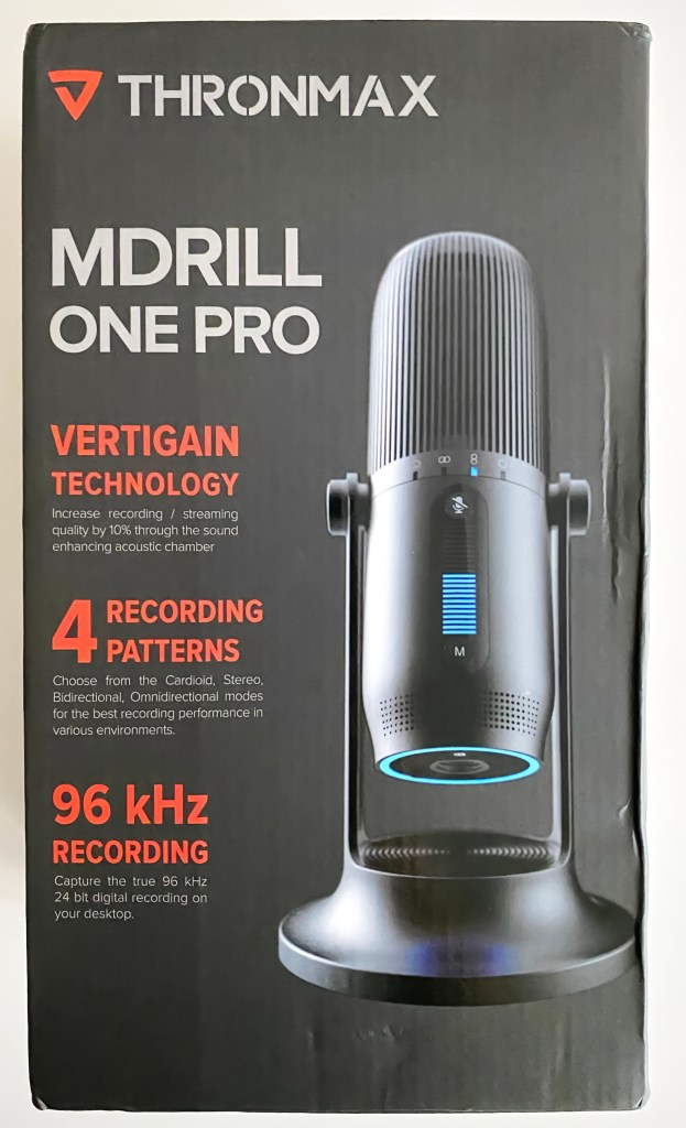 Thronmax MDrill One Pro box