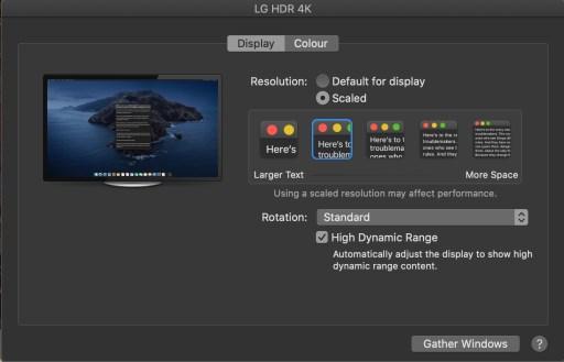 LG 27ul600 HDR mode