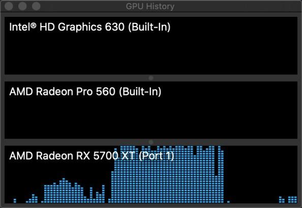 GPU utilization on Battletech final mission scene