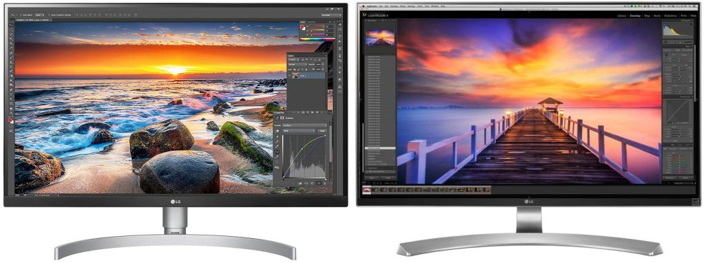 The LG 27UL850-W and 27UD88-W monitors