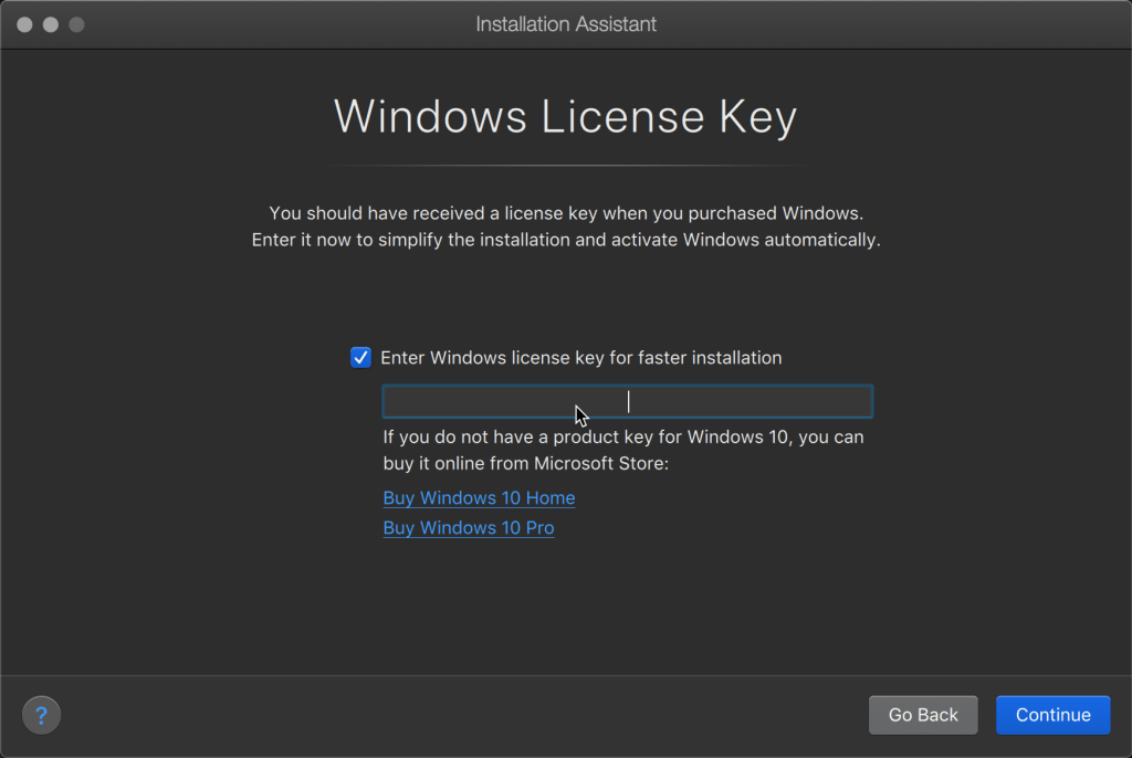 Automatic activation of valid license keys!