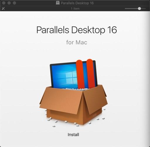 Parallels Desktop 16 Installer