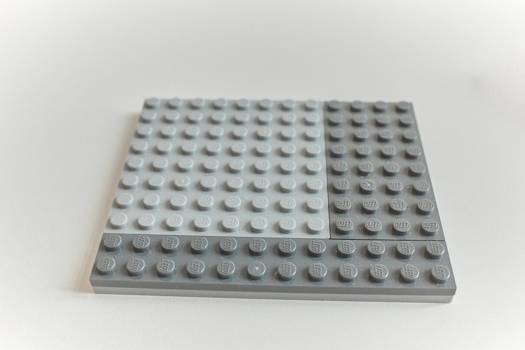 Lego case for the RPi - Base