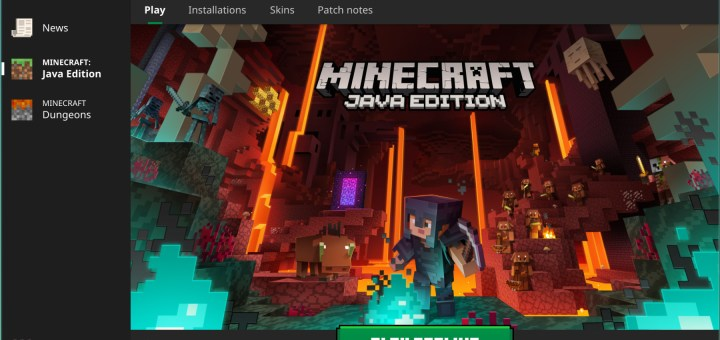 Minecraft launcher running offline