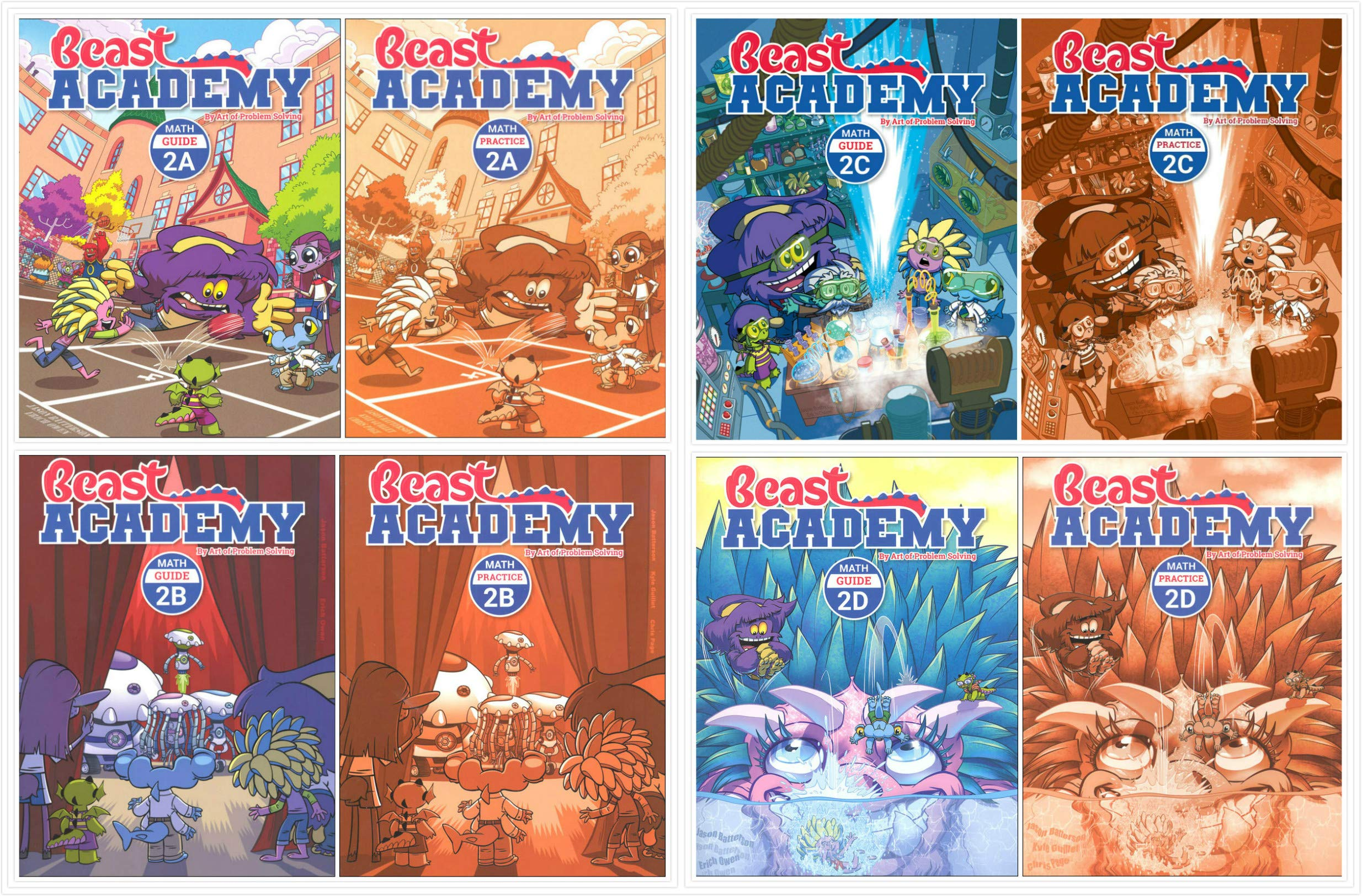 Beast Academy textbooks