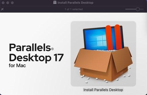 Parallels Desktop 17 - Install!