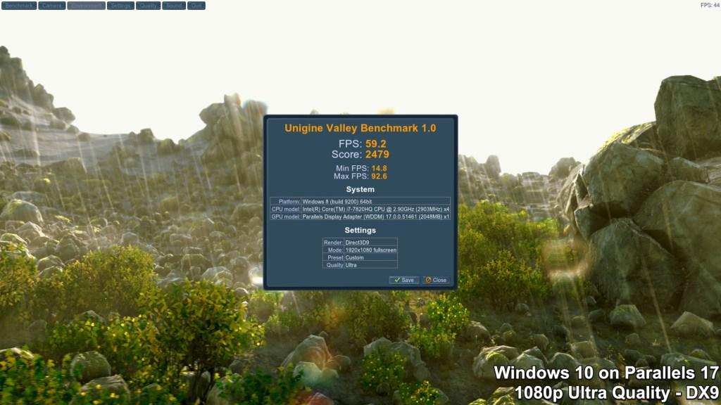 Unigine Valley Benchmark - Windows - Extreme HD Preset - DirectX 9