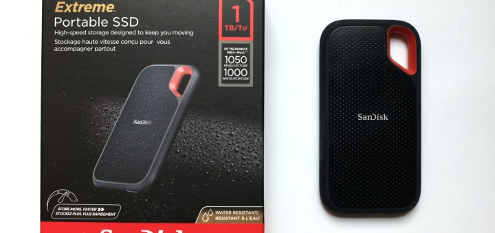 Sandisk Extreme SSD E61 Front