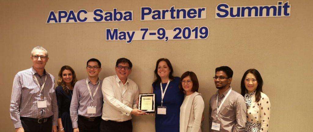 Saba APAC Partner – Sales Excellence Award
