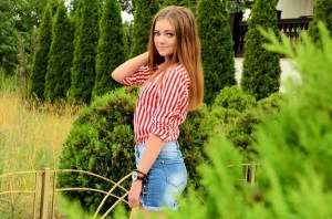 dainty Ukrainian bride from city Gorlovka Ukraine