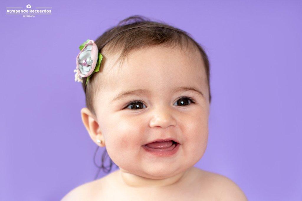 Sesion de fotos a bebe