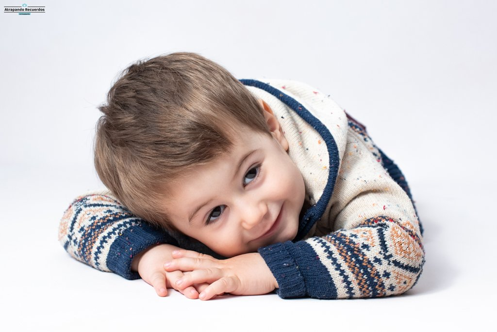 sesion fotos infantil primer plano bilbao bizkaia
