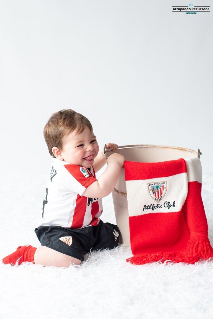 sesion fotografica infantil bebe bilbao bizkaia