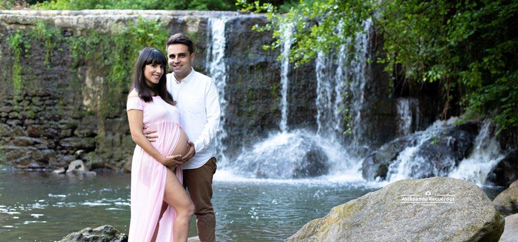 Sesion de fotos Embarazo en Exterior barakaldo destacada