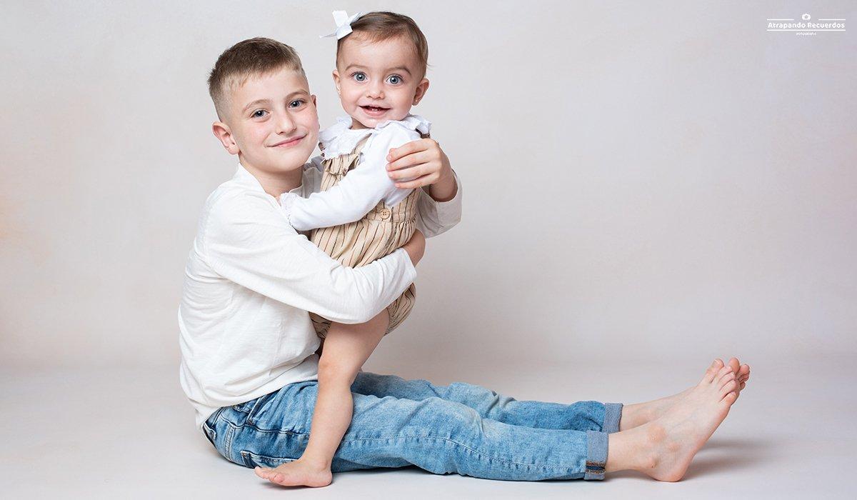 Fotografía hermanos