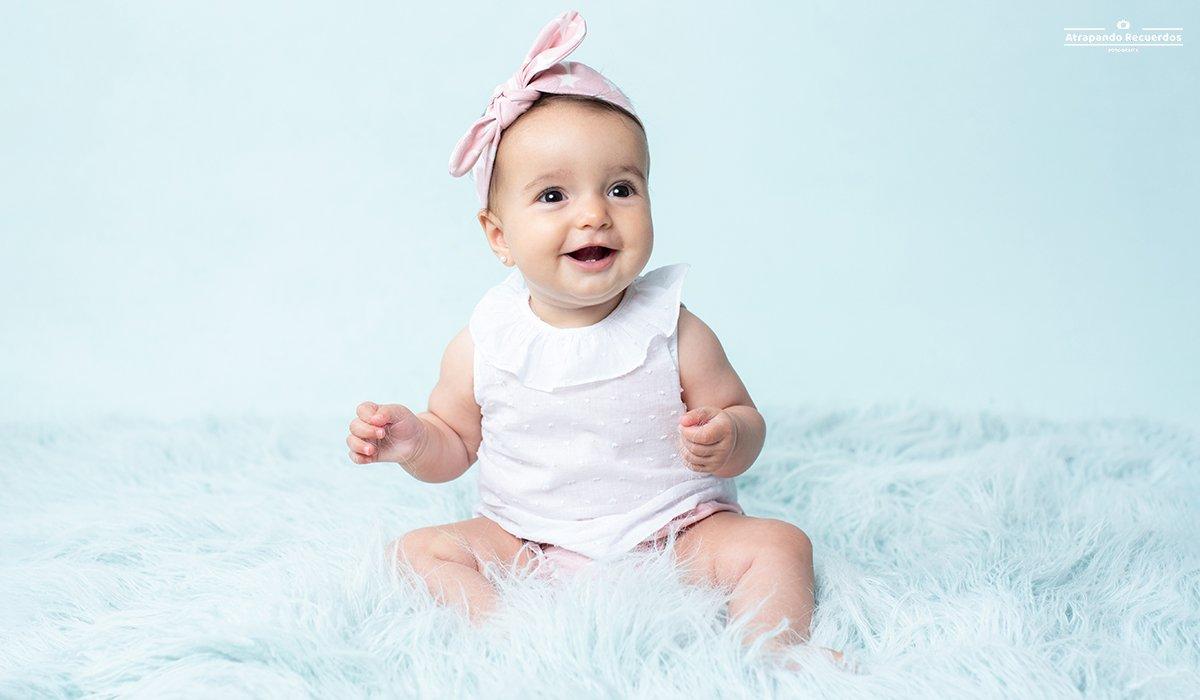 Sesion fotos bebé bilbao