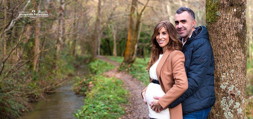 foto embarazo pareja bilbao