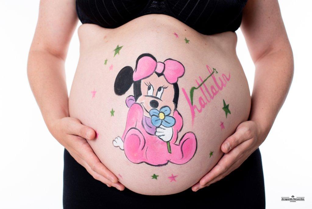 pintar tripa embarazo bilbao