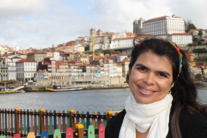 Eu fiquei encantada com a beleza de Porto, Portugal